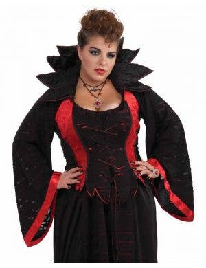 Vampiress Women's Plus Size Halloween Costume