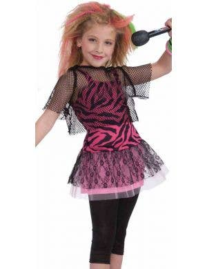 80's Retro Rock Star Girls Costume