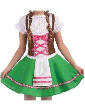 Storybook Gretel Girls Fancy Dress Costume
