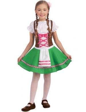 Storybook Gretel Girls Fancy Dress Costume