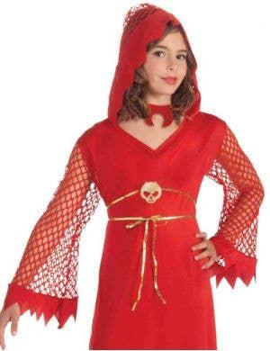 Devilish Diva Girls Halloween Costume