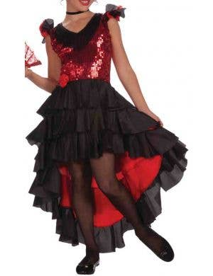 Flamenco Dancer Girls Spanish Costume