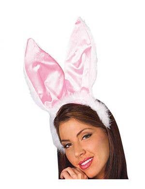 Bunny Ears and Tail Set - Pink