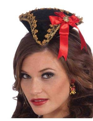Buccaneer Beauty Mini Pirate Hat