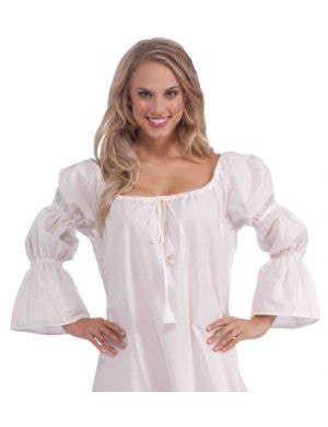 Medieval White Costume Chemise