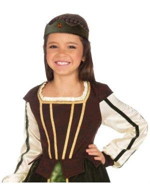 Maid Marion Girls Medieval Costume
