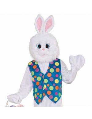 Plush Easter Bunny Deluxe Adults Costume