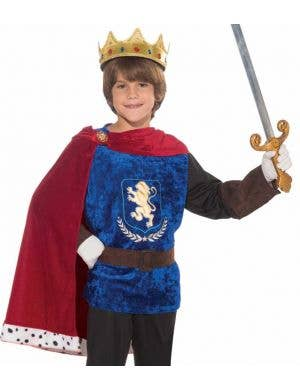 Prince Charming Boys Fancy Dress Costume
