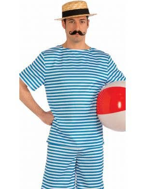 Beachside Clyde Men's 1920's Swimwear Costume