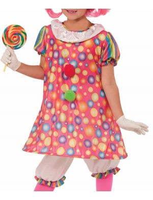 Tickles the Clown Girls Costume