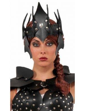 Warrior Queen Women's Black Headpiece