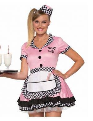 Trixie Sue Women's 50's Waitress Costume