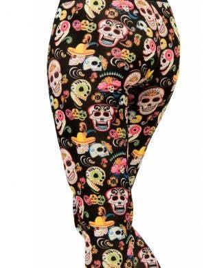 Day of the Dead Women's Sugar Skull Costume Leggings
