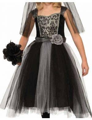 Gothic Bride Girls Halloween Costume