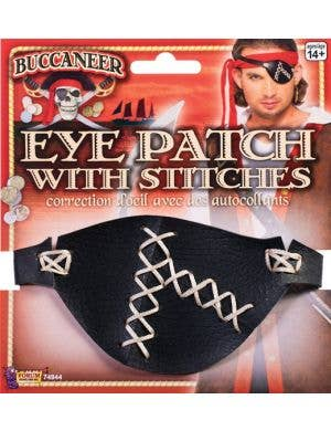 Pirate Costume Eyepatch with Stitches