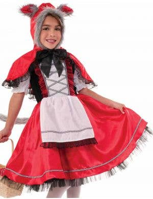 Little Red Riding Wolf Girls Costume