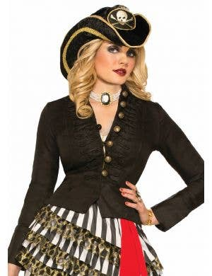 Buccaneer Pirate Women's Costume Jacket