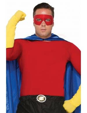 Superhero Red Rouge Unisex Adult's Costume Shirt