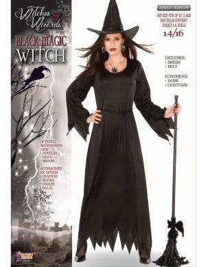 Classic Black Magic Witch Women's Halloween Costume