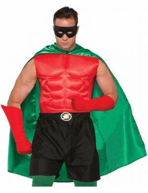 Superhero Adults Costume Accessory Cape - Green