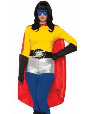 Superhero Adults Costume Accessory Cape - Red