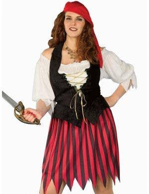 Buccaneer's Bride Plus Size Pirate Costume