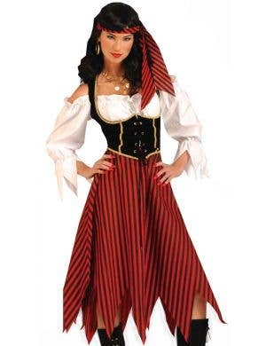 Pirate Maiden Women's Fancy Dress Costume
