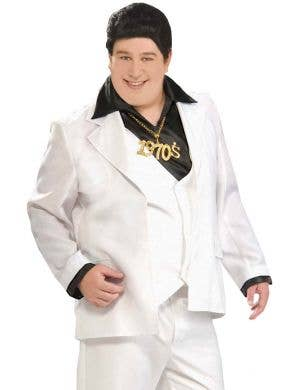 Disco Fever Plus Size Men's Costume