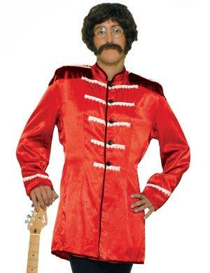 British Explosion Men's Red Beatles Costume