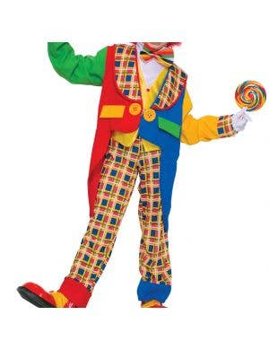 Tuxedo Clown Kids Circus Costume