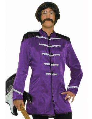 British Explosion Men's Purple Beatles Costume