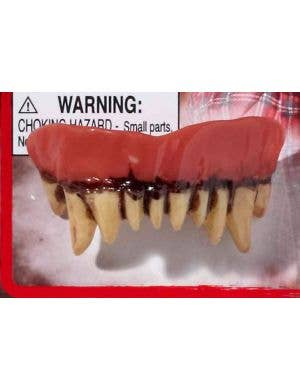 Werewolf Halloween Fake Teeth and Putty