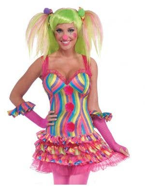 Tootsie The Clown Sexy Women's Costume