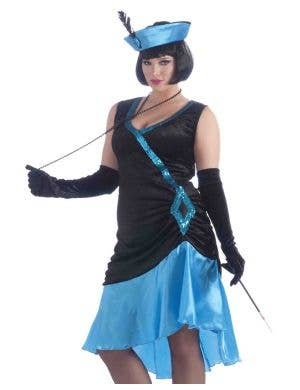 Betty Blue Women's Plus Size 1920's Flapper Costume