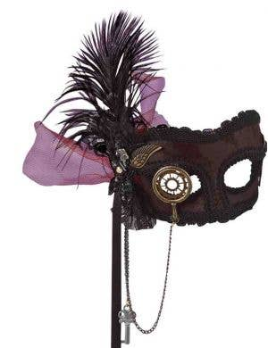 Deluxe Steampunk Masquerade Mask