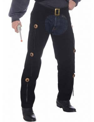 Cowboy Men's Vest and Chaps Costume Set
