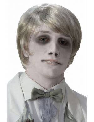 Ghostly Gentleman Men's Halloween Wig