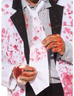 Blood Splattered Adults Zombie Tie