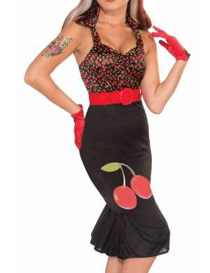 Cherry Anne Retro Rock Fancy Dress Costume