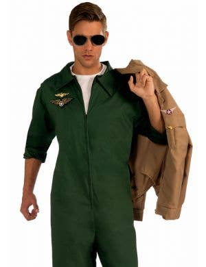 Aviator Men's Costume Flightsuit