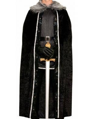 Game Of Thrones Men's Black Costume Cape