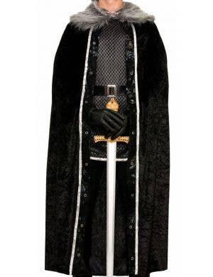 Game Of Thrones Men's Black Costume Cape