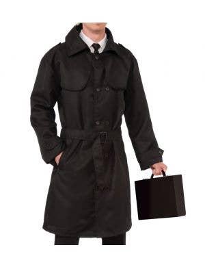Secret Agent Men's Costume Trench Coat
