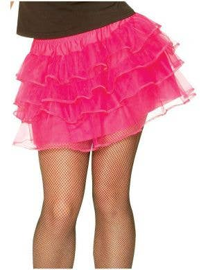 1980's Bright Pink Petticoat