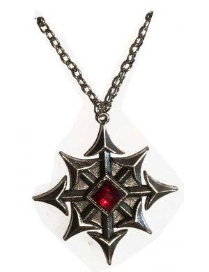 Dracula Vampire Halloween Necklace