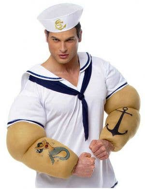 Comic Strip Sailor Men's Fancy Dress Costume