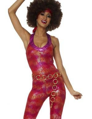1970's Foxy Lady Women's Fancy Dress Costume