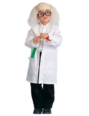 Doctor's Lab Coat Boys Fancy Dress Costume
