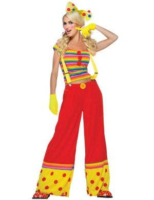 Moppie The Clown Women's Fancy Dress Costume