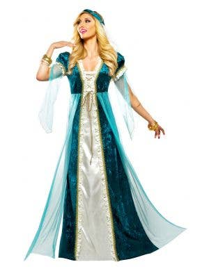 Juliet Emerald Green Deluxe Women's Fancy Dress Costume